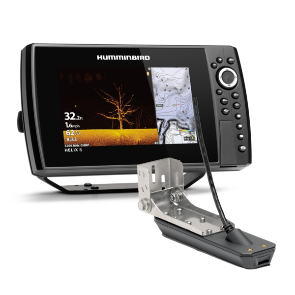 Humminbird Helix 8 CHIRP MDI GPS G3N Includes Transducer