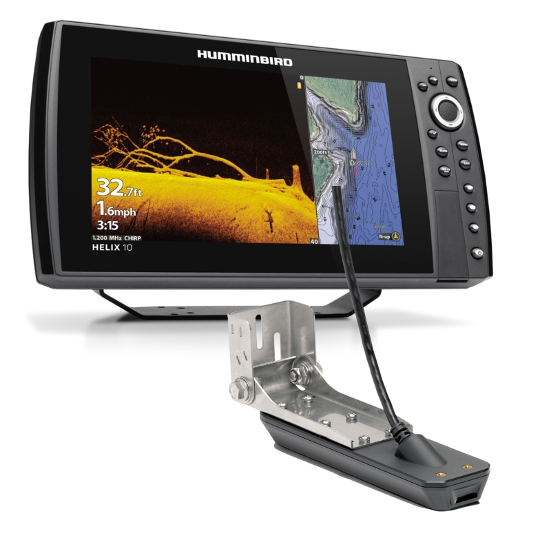 Humminbird HELIX 10 CHIRP MSI+ GPS G3N - Includes Transducer