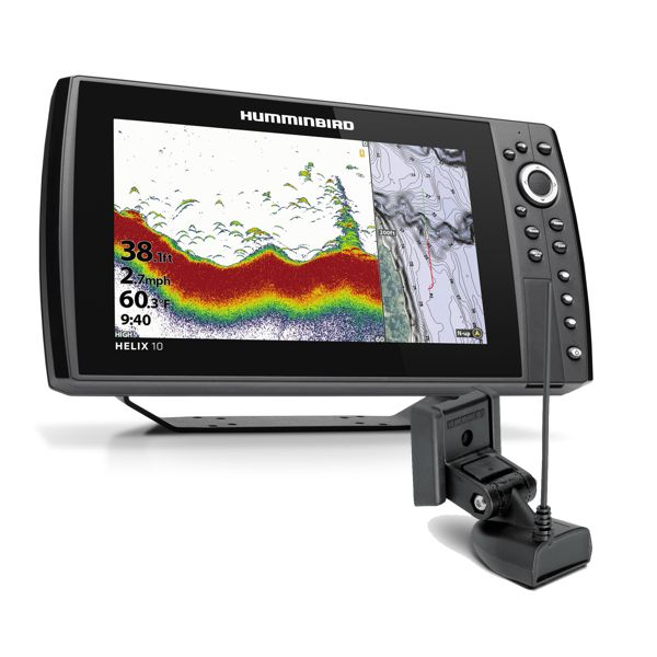 Humminbird Helix 10 Chirp GPS 4GN With Transducer