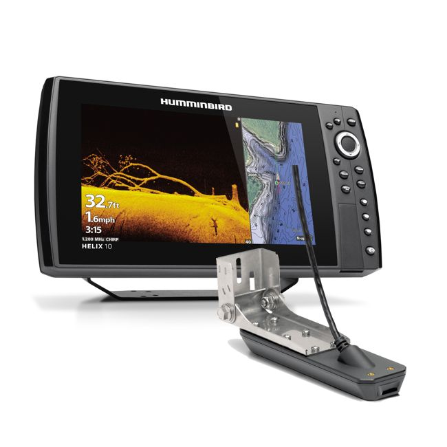 Humminbird HELIX 10 CHIRP MSI+ GPS G4N - Includes Transducer