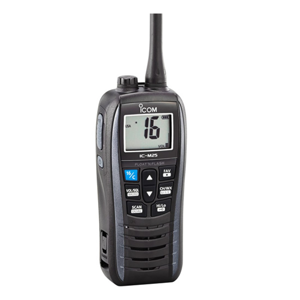 Icom IC-M25 EURO Handheld VHF With Grey Band