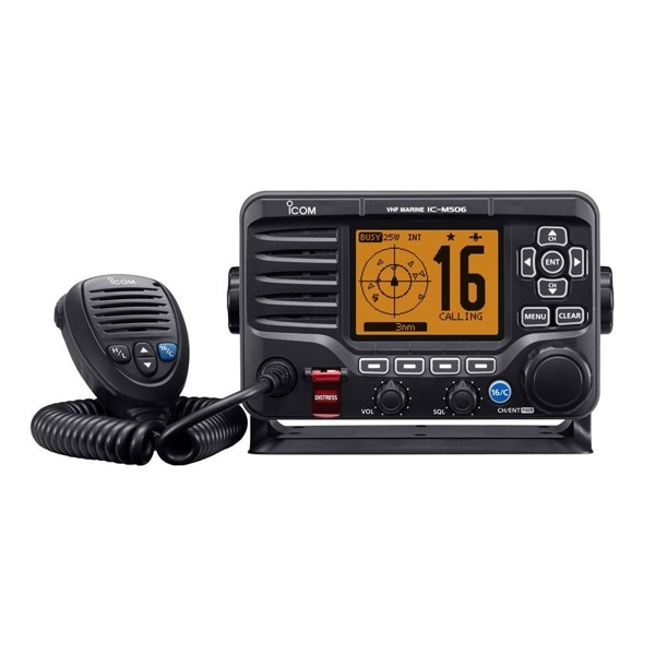 Icom IC-M506GE DSC VHF With AIS and GPS Antenna - NMEA 2000