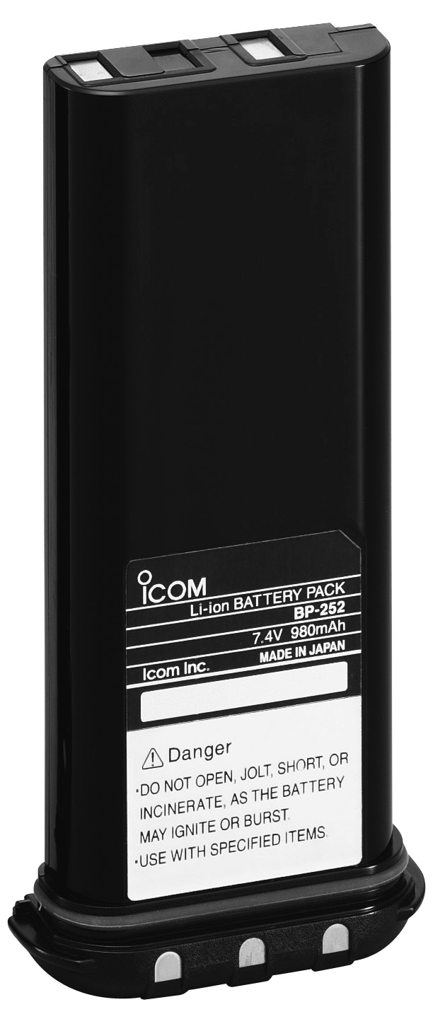 Icom BP-252 M33 LION Battery