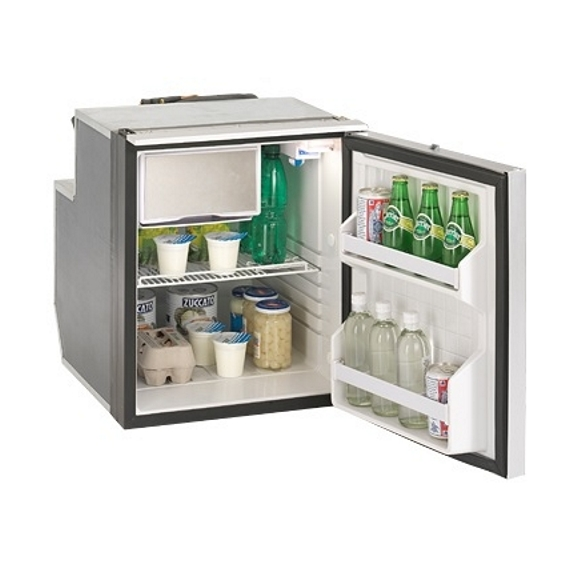 Isotherm Cruise Elegance Marine Refrigerators (Silver Door) - 65L