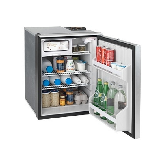 Isotherm Cruise Elegance Marine Refrigerators (Silver Door) - 85L