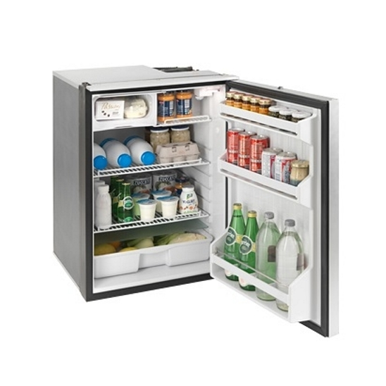 Isotherm Cruise Elegance Marine Refrigerators (Silver Door) - 130L