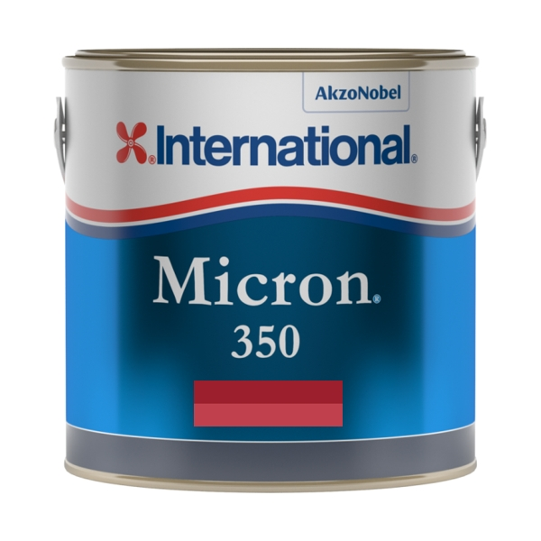 International Micron 350 Antifouling - Red - 2.5ltr