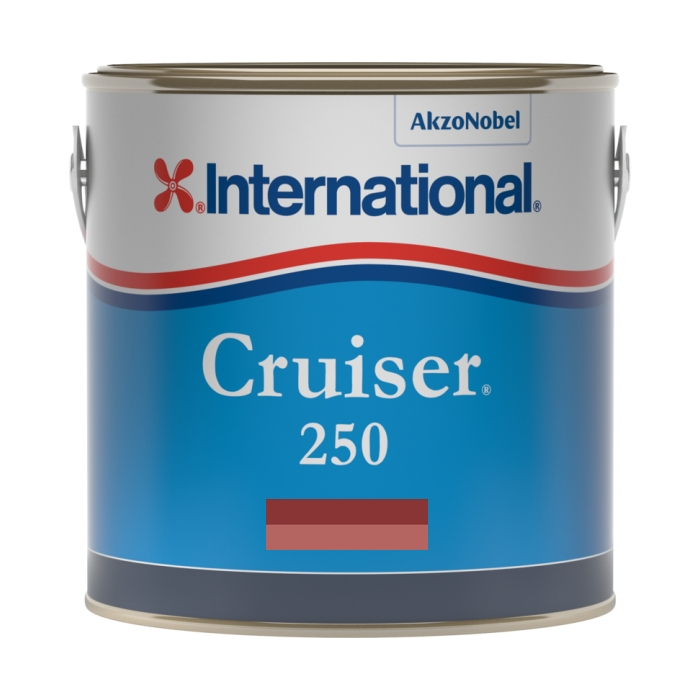 International Cruiser 250 Antifouling - Red - 3ltr