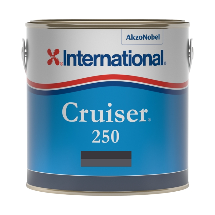 International Cruiser 250 Antifouling - Black - 3ltr