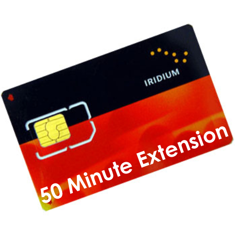 Iridium Prepaid 50 Minute Extension Voucher