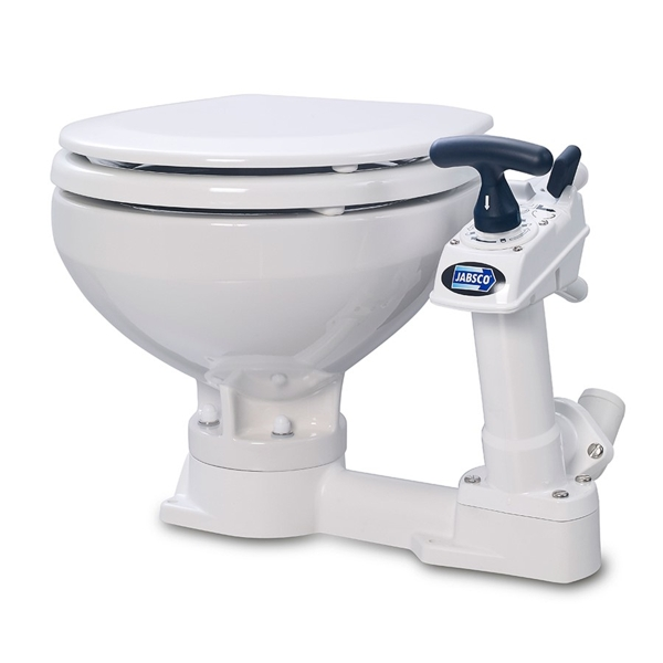 Jabsco Manual Toilet Twist n Lock - Compact