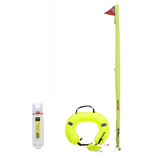Jonbuoy Inflatable Danbuoy & Horseshoe Combination With White Case