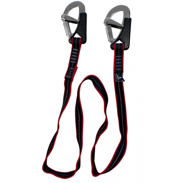 Kru 2 Hook Safety Line / Tether (1.5m)