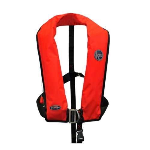 Kru XF Lifejacket - Manual & Harness - Red