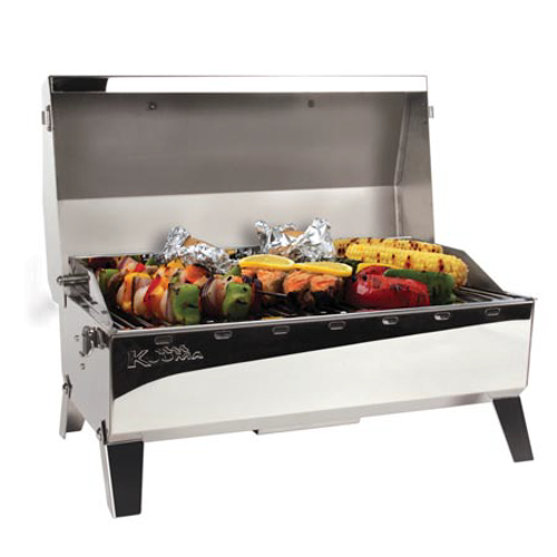 Kuuma Barbecue Stow N Go 160 Gas Grill With Regulator (59 x 28.5cm)