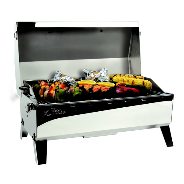 Kuuma Barbecue Stow N Go 160 Gas Grill With Regulator & Igniter (59 x 28.5cm)