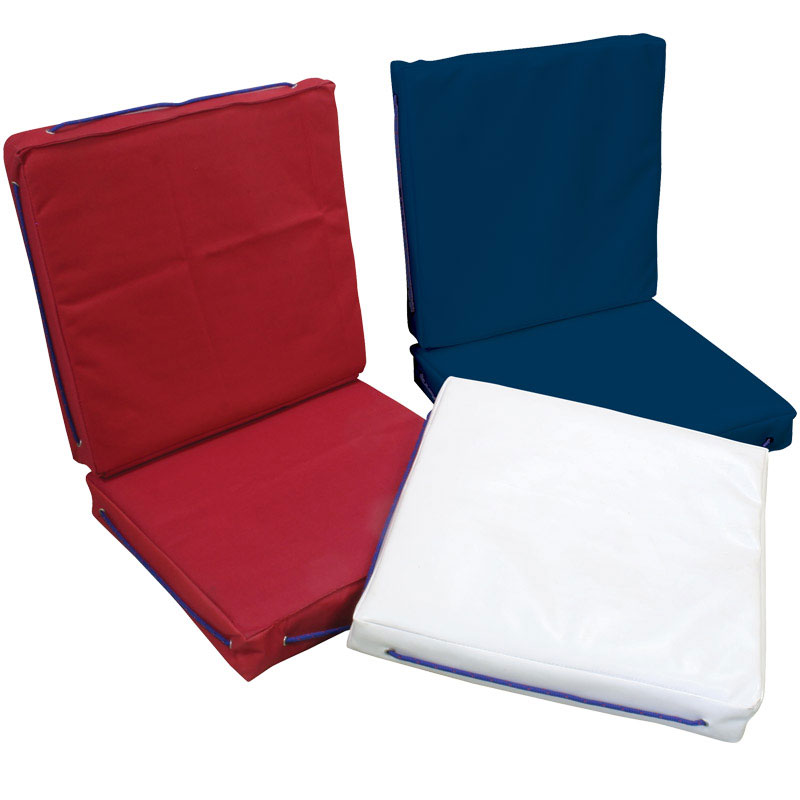 Buoyant Deck Cushion. Double. Red