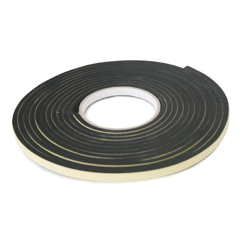 Marine Neoprene Tape ''hatchseal''. 3m X 19mm X 6mm. Black