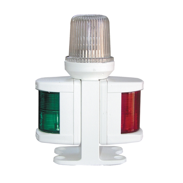 Lalizas Classic 12 All-round & Port & Starboard Light With White Housing