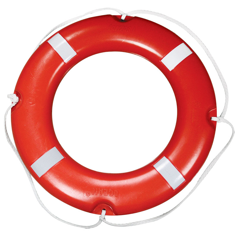 """lalizas Lifebuoy Ring Solas, W/retroreflective Tape,ø73cm, 4kg"""
