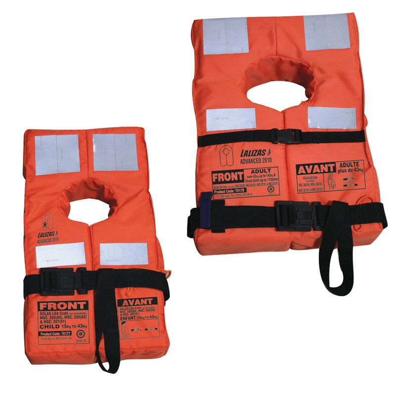 Lalizas Advanced Adult's Lifejacket Solas-(lsa Code) 2010