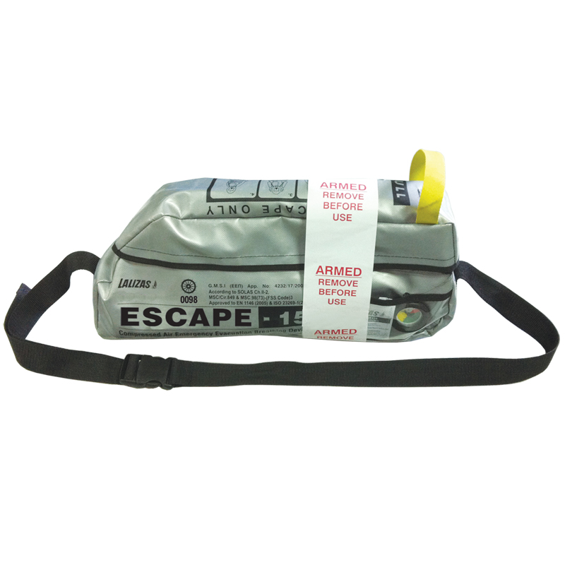 Lalizas Emergency Evacuation Breathing Device''escape-15''