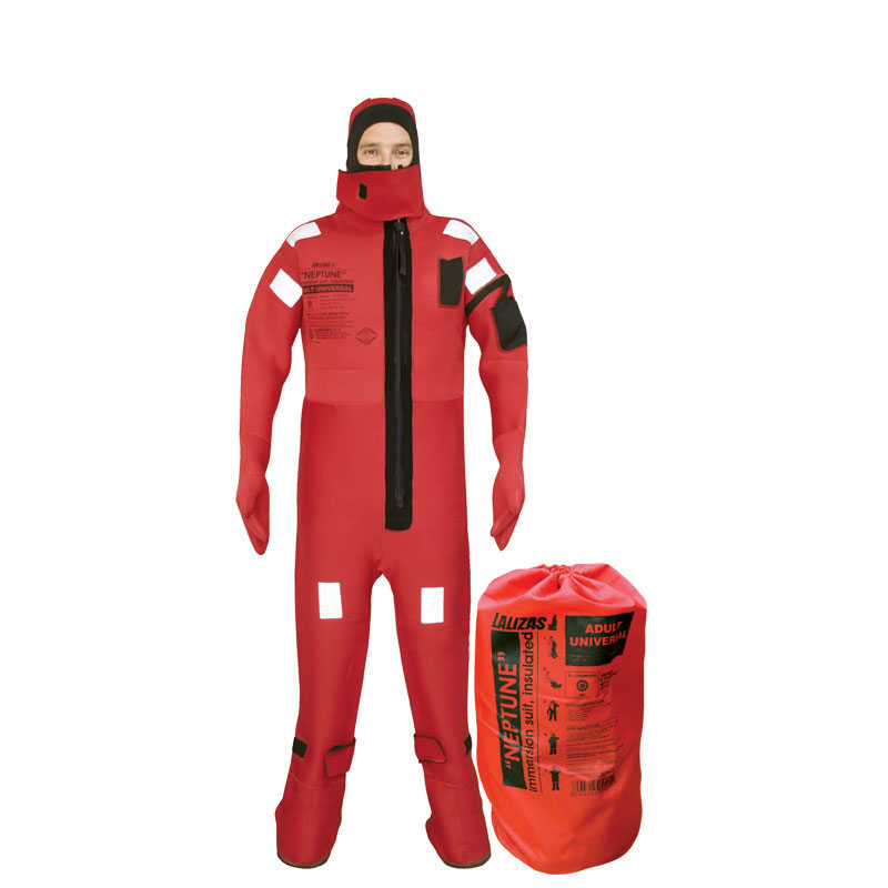 Lalizas Immersion Suit Neptune - Solas - XLarge - Insulated - With Neoprene Gloves