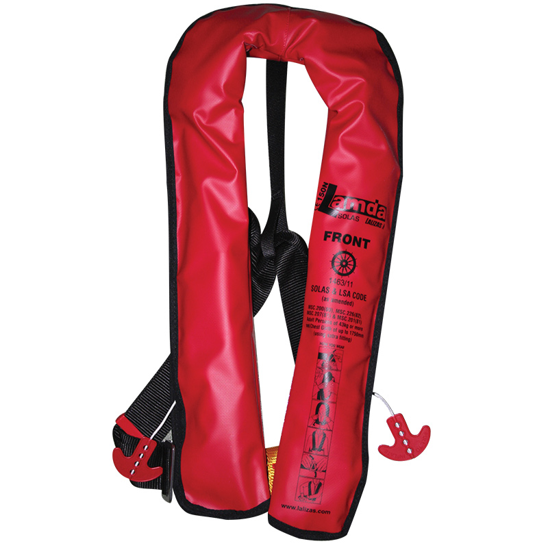 """lalizas Inflatable Lifejacket Lamda Auto 150n,  Solas"""