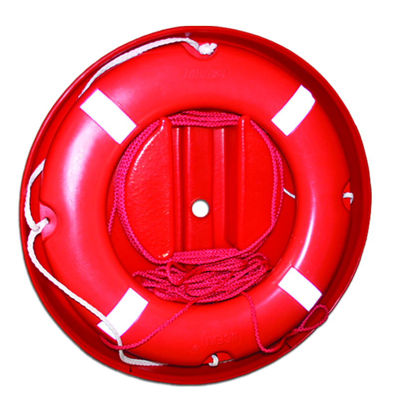 Set Of Lifebuoy Ring Case W/ 70090 Ring & Floating Rope