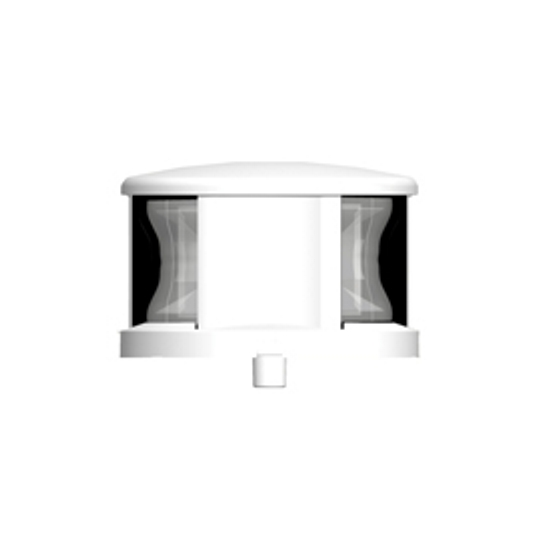 Lalizas FOS LED 12 and 20 All-Round Light 360 Deg With White Housing
