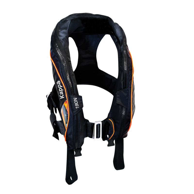 """kappa Infl.lifejacket.auto.adult,180n,iso 12402-3,lalizas Js1,w/double Crotch,w/ Harness"""