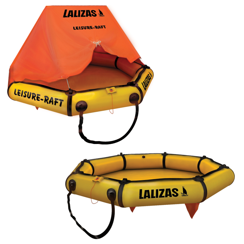 """lalizas Leisure-raft, With Canopy, 6prs"""