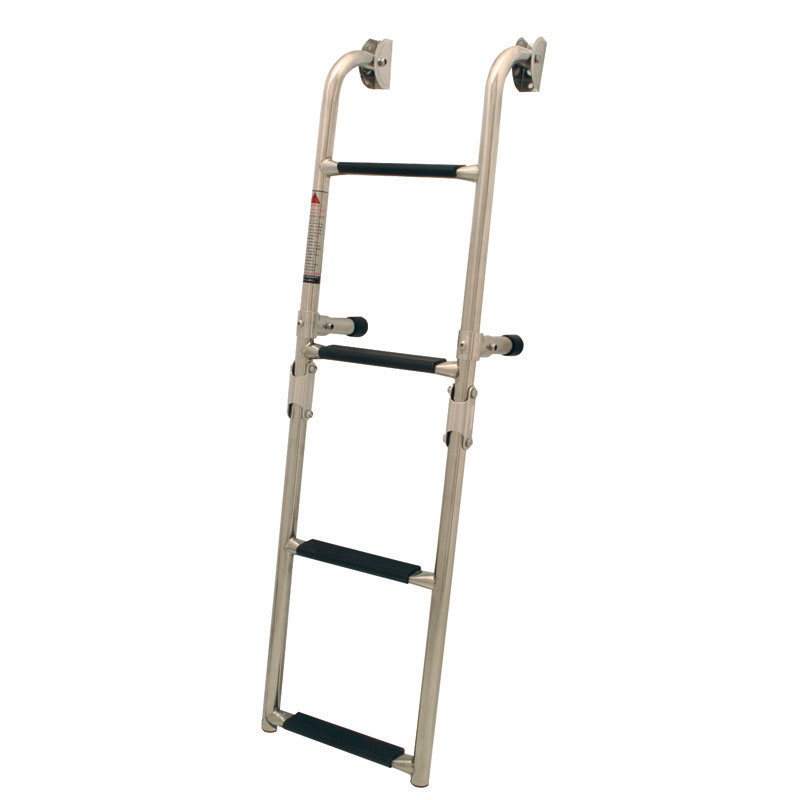 Folding Ladder For Transom. 2+2 Steps. 250x910mm