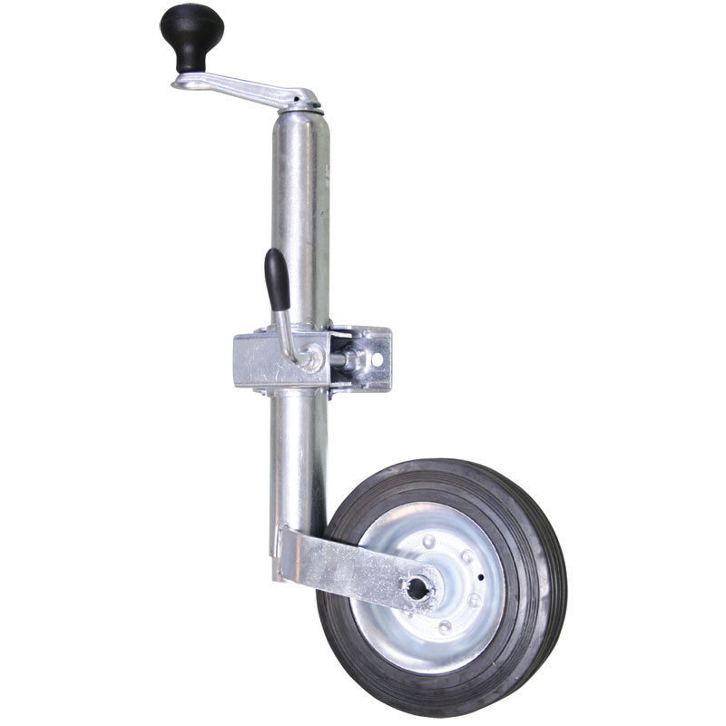 Jockey Wheel. 360kgs. Min Height 500mm. Max Height 720mm. Wheel 200x50mm