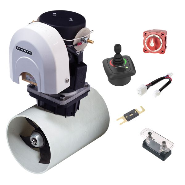 Lewmar 140TT 2.2KW 12V Electric Bow Thruster Kit With GEN2 Joystick