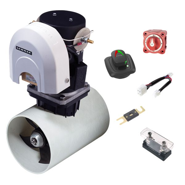 Lewmar 140TT 2.2KW 12V Electric Bow Thruster Kit With GEN2 Control Pad