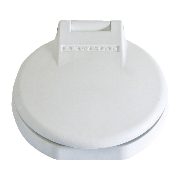 Lewmar Electric Deck Switch White (blank)