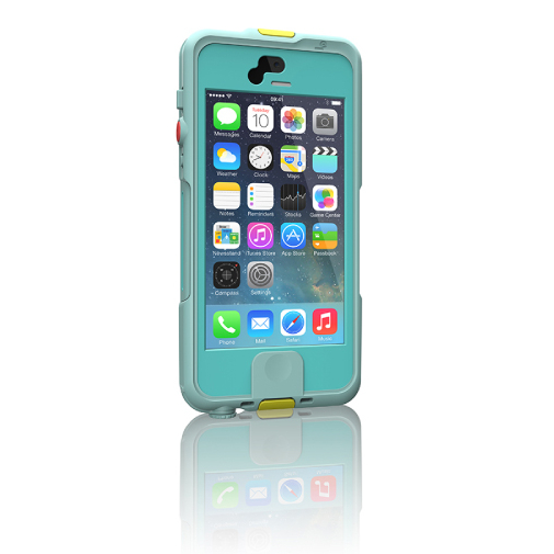 Lifedge Waterproof Case for iPhone 5 / iPhone 5s - Omugi (Light Blue)