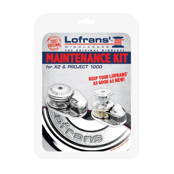Lofrans Maintenance Kit for X2 Chromed Bronze Windlass