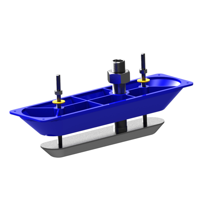 Lowrance Structure Scan Stainless Steel Transducer (Single)