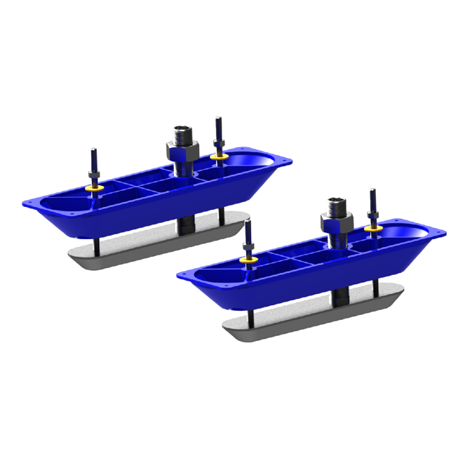 Lowrance Structure Scan Stainless Steel Transducers (Pair)