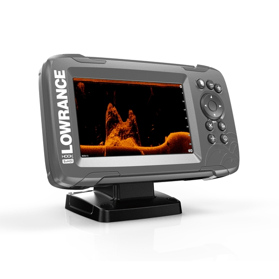 Lowrance HOOK 2-5x GPS / Fishfinder with Splitshot Transducer (DownScan)