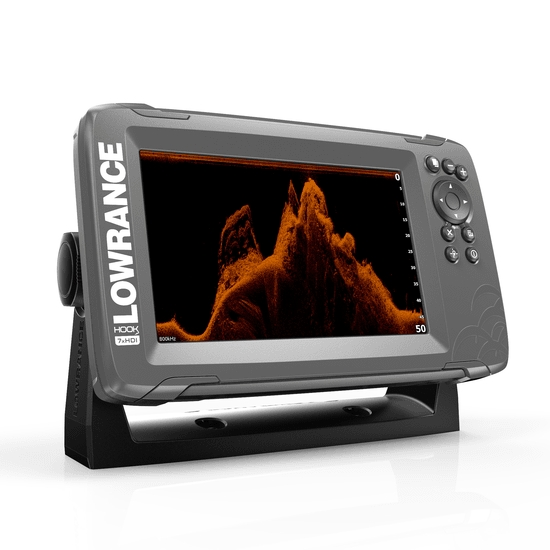 Lowrance HOOK 2-7x GPS / Fishfinder with Splitshot Transducer (DownScan)
