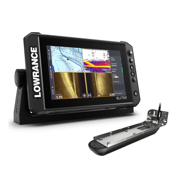 Lowrance Elite 9 FS AI With 3 in 1 Transducer