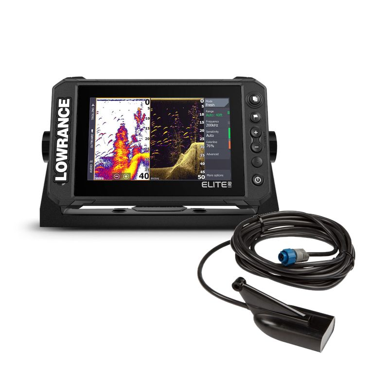 Lowrance Elite 7 FS With HDI Transducer