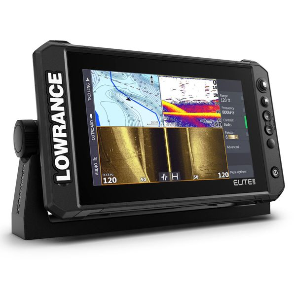 Lowrance Elite 9 FS With No Transducer