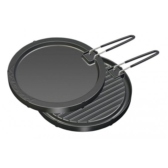 Magma Round Griddle - Non Stick & Reversible (298mm)