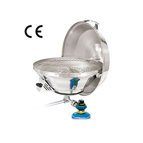 Magma Marine Kettle Gas Grill with New Electronic Pulse Ignition 15Inch (38cm) BBQ (Mk3)