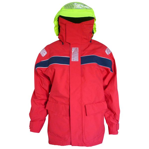 MainDeck Coastal Jacket Red - Size L