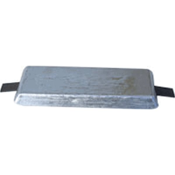 MG Duff AD60 Aluminium Hull Anode Weld on 2.5Kg